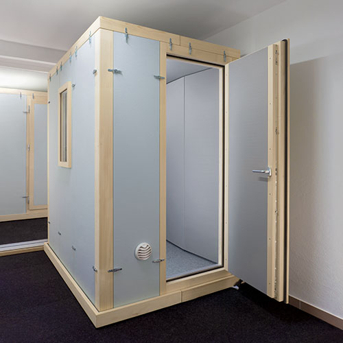 Sound isolation booth STUDIOBOX Premium Acoustic test chamber