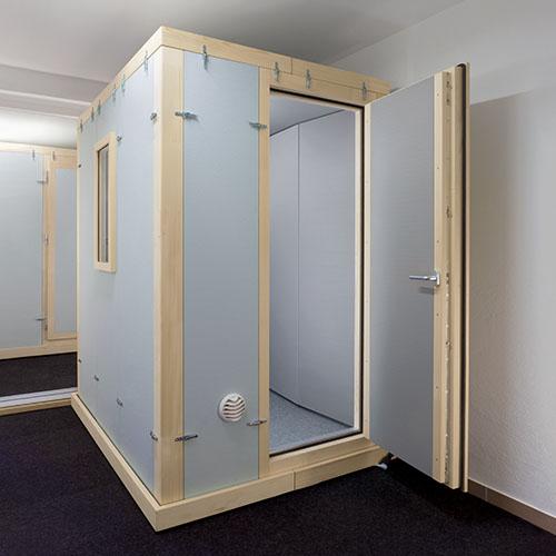 Akustikkabine STUDIOBOX Premium Schallmessraum