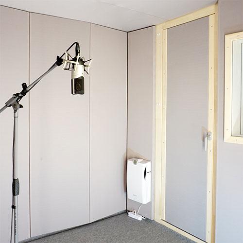 STUDIOBOX Schallmessraum Abhörraum für Forschung + Entwicklung