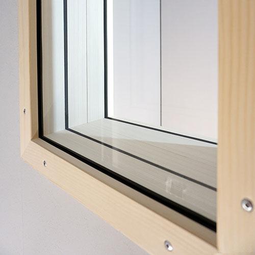 Schallschutzfenster STUDIOBOX Studio- und Audiokabine