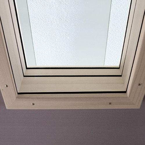 Fenster Detailansicht STUDIOBOX Musikkabine