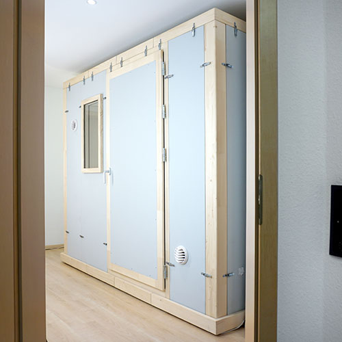 STUDIOBOX mobiler Akustikraum - Testen Sie in unserer Ausstellung