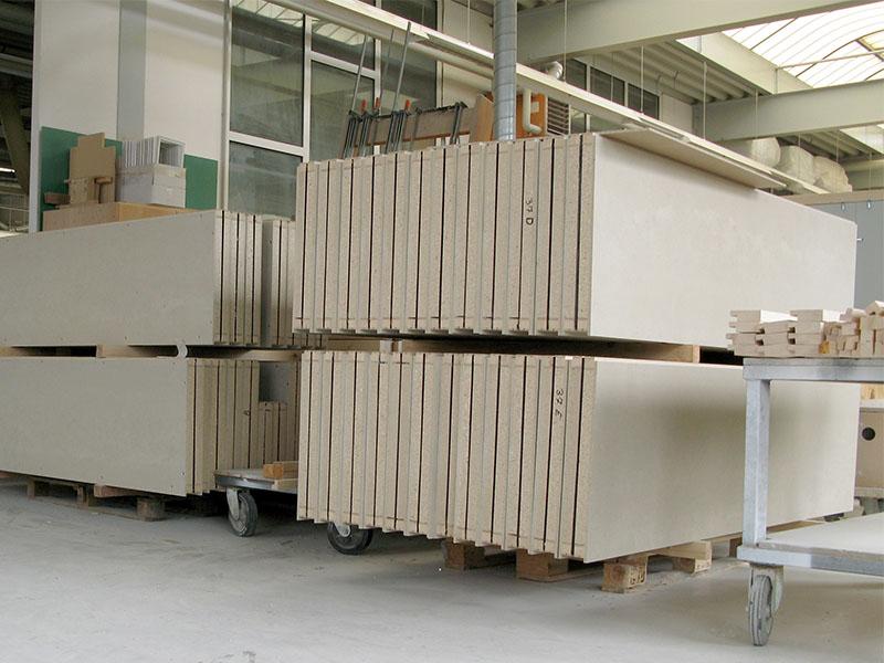 Vorfertigung STUDIOBOX Akustik Räume